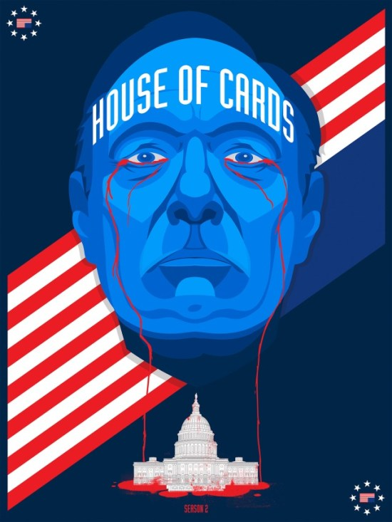 Ben Whitesell's House of Cards poster