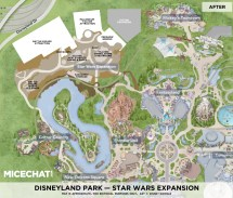 Star Wars Land Disneyland Expansion Map