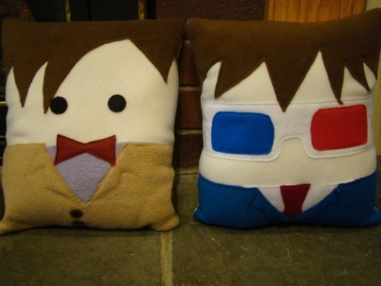 Handmade BBC Character Pillows