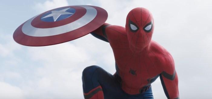the new spiderman costume