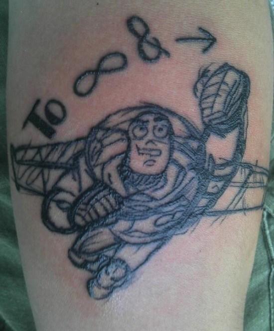 Toy Story tattoo