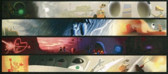 WALL-E color script