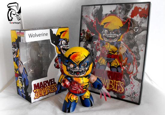 Zombie Wolverine