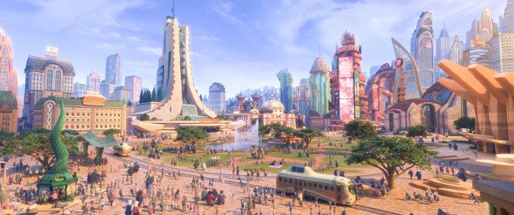 Zootopia - city