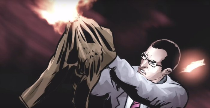 The Accountant Motion Comic
