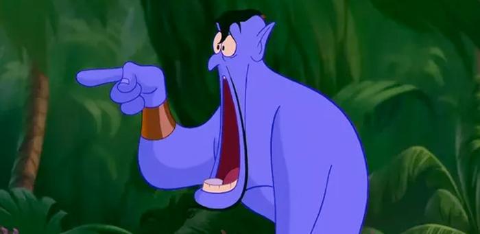 Will Smith Playing Genie in Aladdin