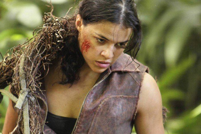 Michelle Rodriguez on Lost