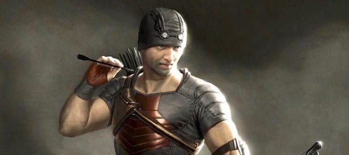 Avengers - Urban Hawkeye Concept Art