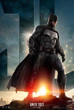 batman justice league poster