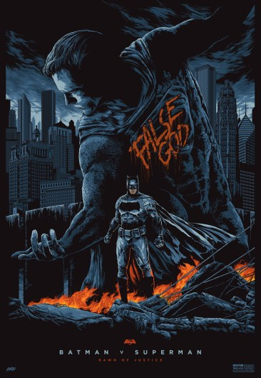 batman v superman mondo poster