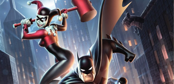 Batman and Harley Quinn Cover
