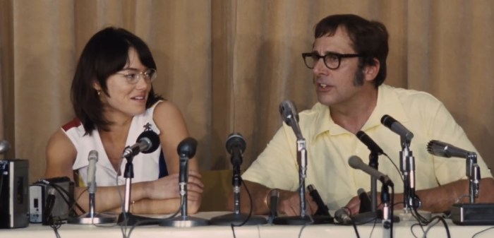 Battle of the Sexes Clips