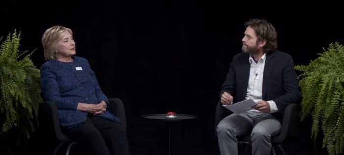 Hillary Clinton on Between Two Ferns