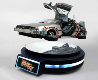Back to the Future Part II Floating Time Machine
