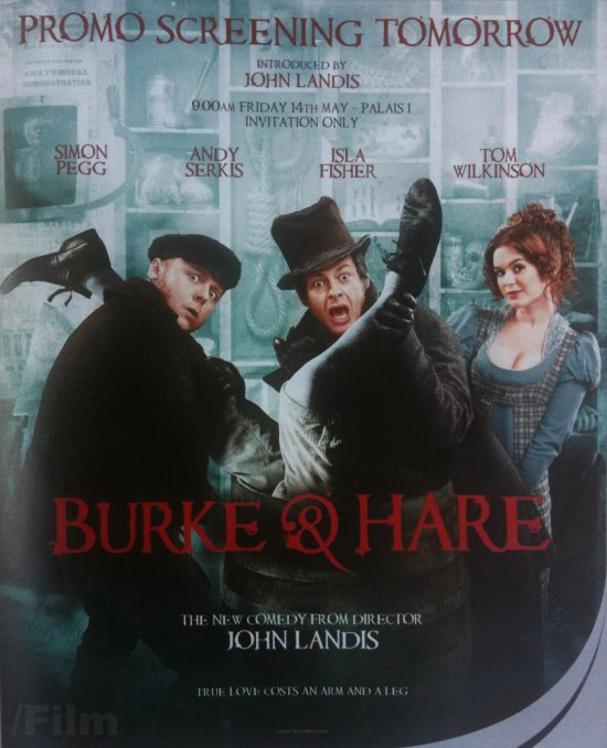 burke and hare early poster