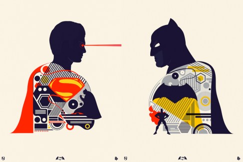 Batman v Superman Artwork