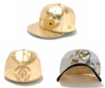 New Era Japan's 59Fifty fitted Star Wars Caps - C3PO