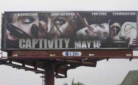 Captivity billboard