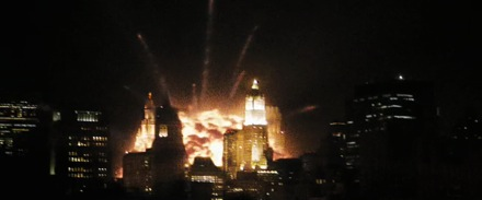 New York City under attack