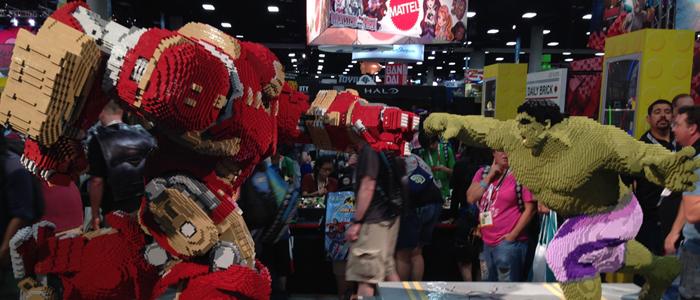 Comic Con 2015 show floor photos