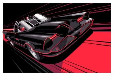 Craig Drake Solo III - 1966 Batmobile