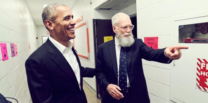 Netflix David Letterman Series