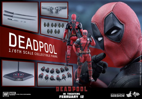 Deadpool Hot Toys Figure
