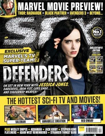 The Defenders - Jessica Jones - SFX Cover