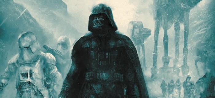 The Empire Strikes Back - Karl Fitzgerald - Bottleneck Gallery NYCC Prints