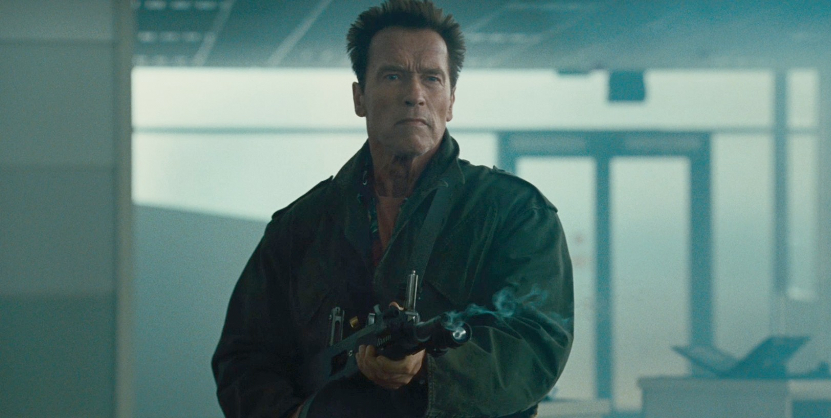 Schwarzenegger Joins Fassbender for Kung Fury Movie