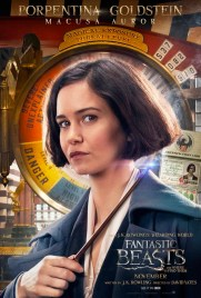 Fantastic Beasts and Where to Find Them Character Poster - Porpentina Goldstein