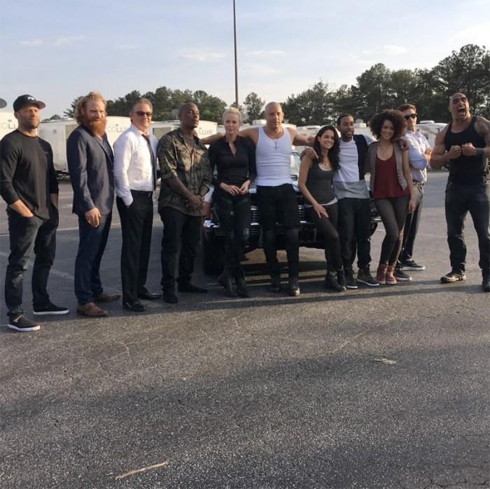 Fast 8 Cast Photo
