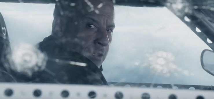 The Fate of the Furious international Trailer - Vin Diesel