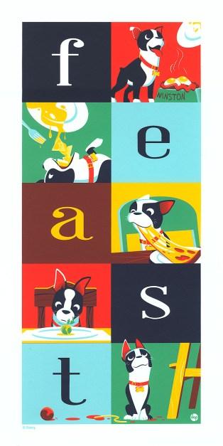 Dave Perillo's Feast print