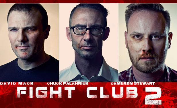 Chuck Palahniuk in Fight Club 2