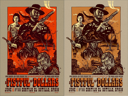 Fistful of Dollars Posters