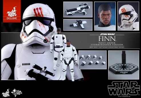 The Force Awakens - Hot Toys Finn FN-2187