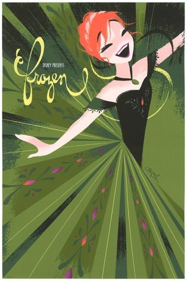 Brittney Lee Frozen Prints - Anna