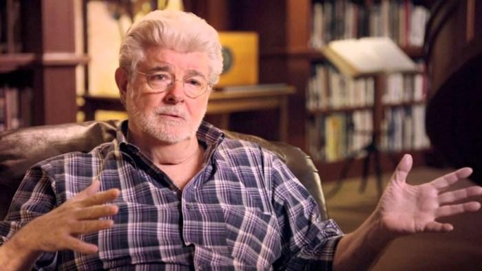 George Lucas Solo Set Visit