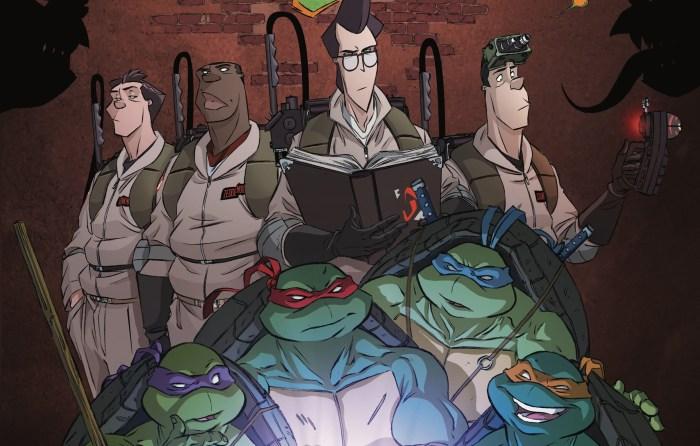 Teenage Mutant Ninja Turtles and Ghostbusters Crossover Sequel