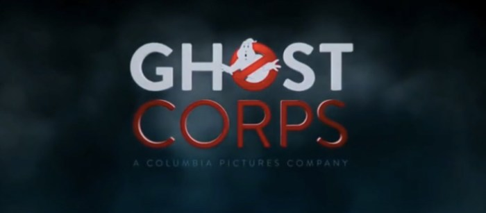 Ghost Corps Logo - Future Ghostbusters Movies