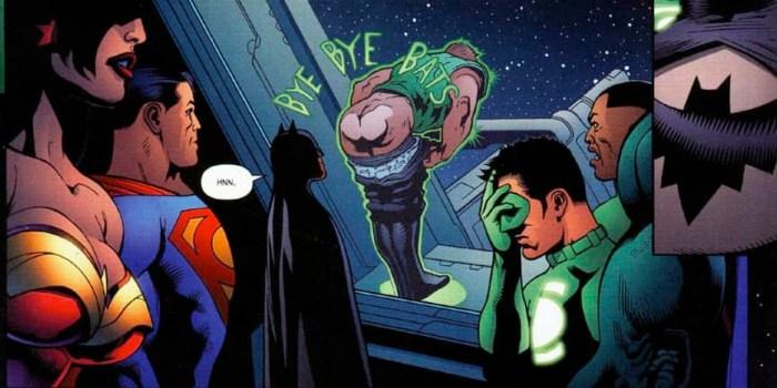 Green Lantern - Bye Bye Bats