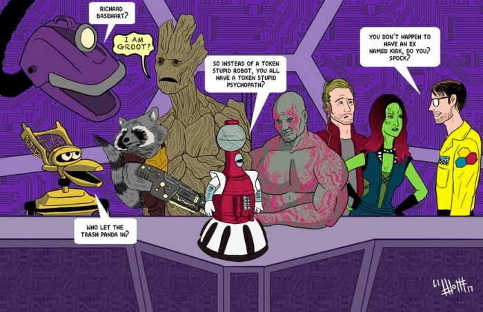Guardians of the Galaxy - Mystery Science Theater 3000