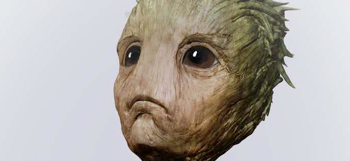 Guardians of the Galaxy 2 Concept Art - Baby Groot