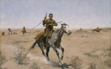 han solo frederic remington