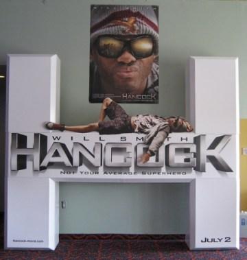 Hancock Standee