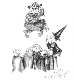 J.K. Rowling Harry Potter Sketches - Peeves