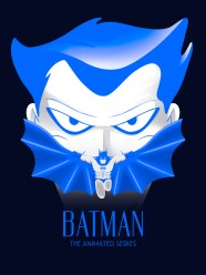 Hero Complex Gallery Blacklight Show - Batman The Animated Series