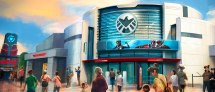 Theme Park Bits 'ant-man And Wasp' Ride Concept
