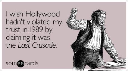 Last Crusade Ecard